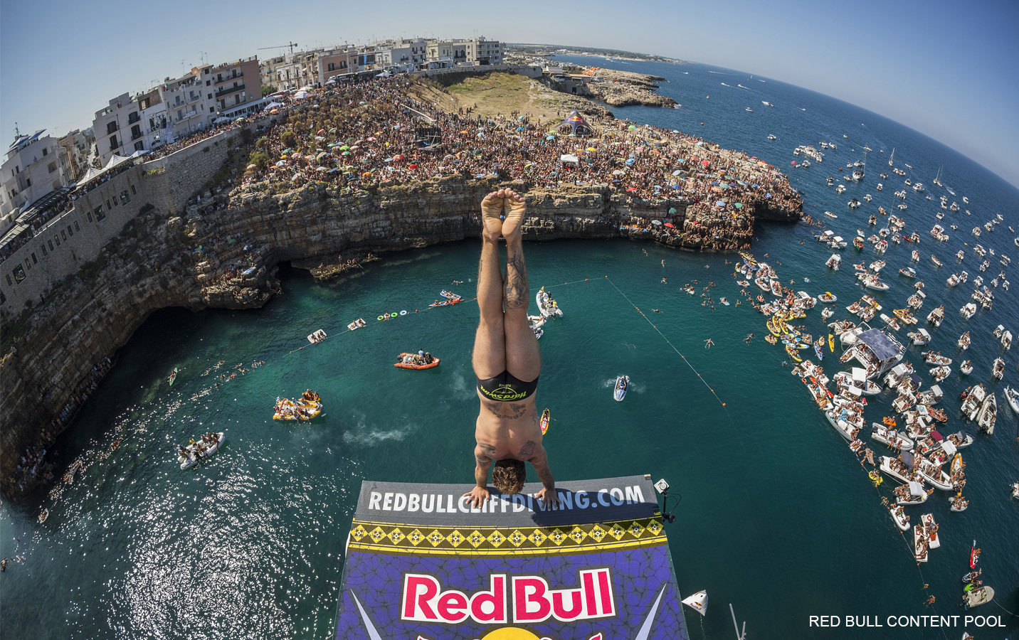 Alessandro de Rose - Red Bull Cliff Diving World Series - Polignano a Mare