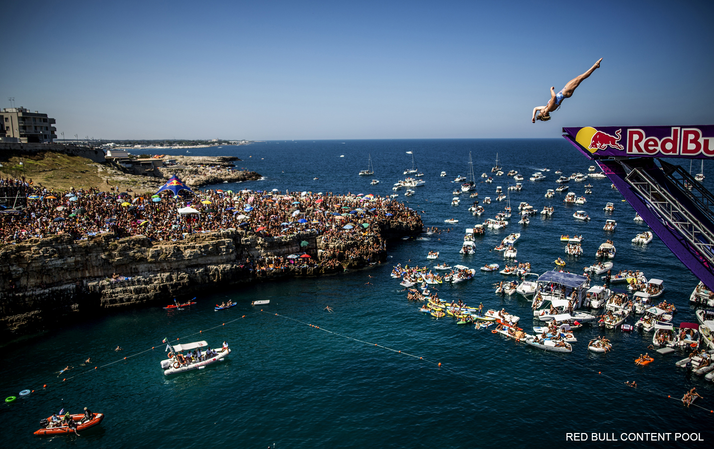 Rachelle Simpson - Red Bull Cliff Diving World Series - Polignano a Mare