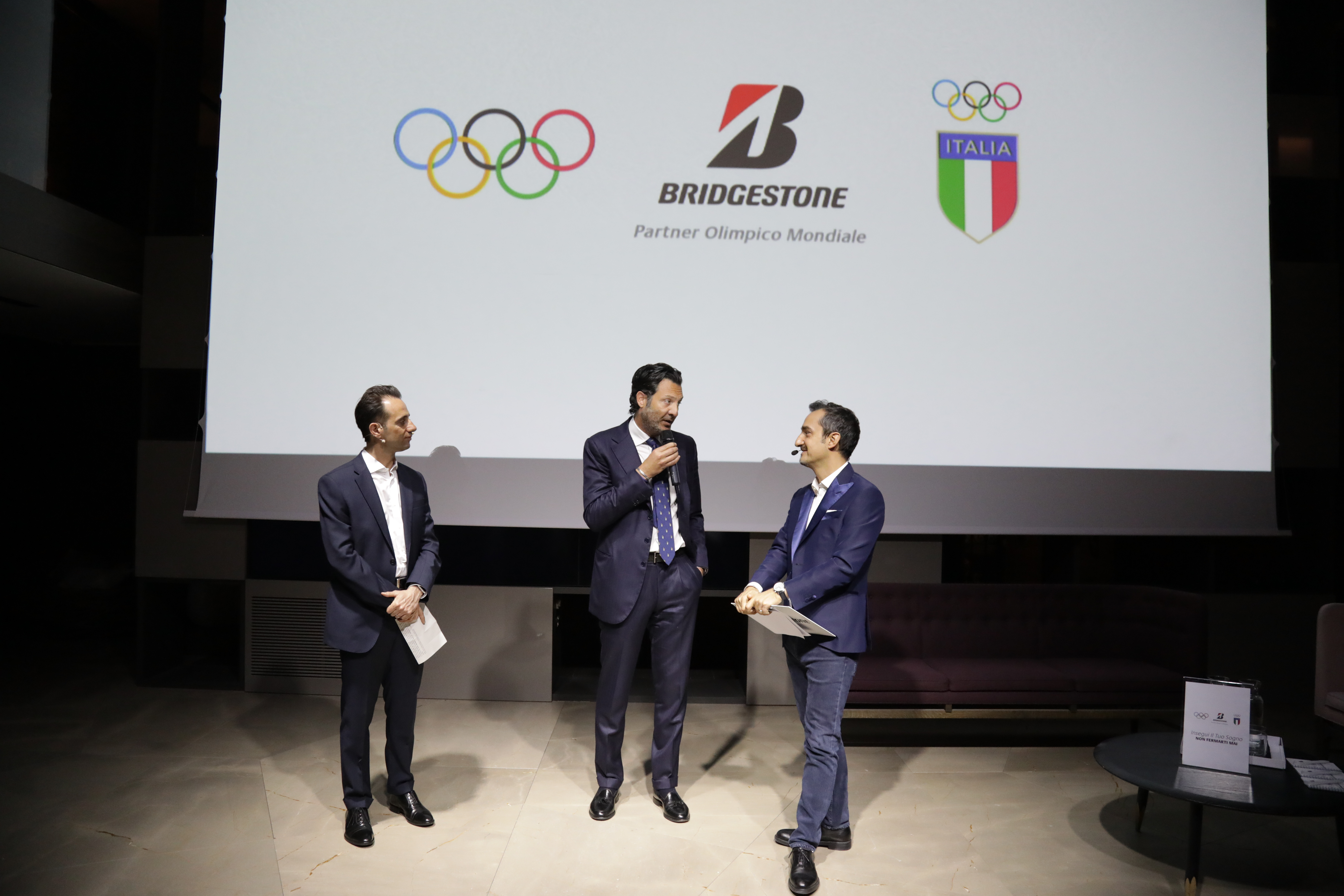 Bridgestone Olympic Launch – Italy